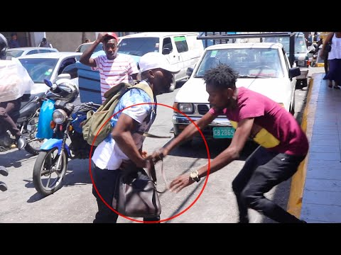 This Happened Shopping Downtown Kingston Jamaica