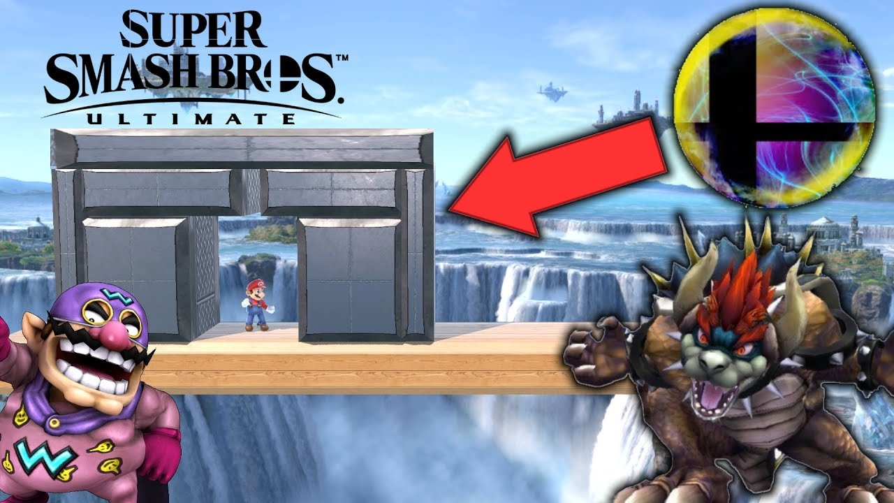 Super Smash Bros Ultimate Whose Final Smash Can Break Through The Steel Wall