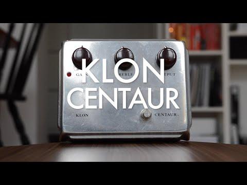 Silver Klon Centaur (demo)