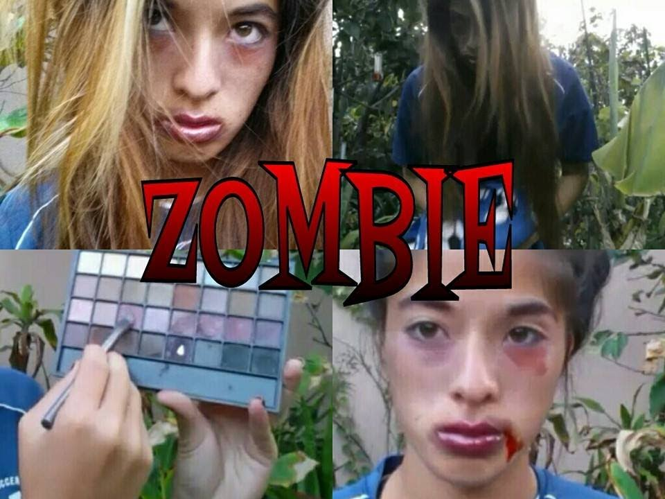 Zombie Soccer Player Makeup Tutorial Youtube