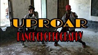 UPROAR || DANCE CHOREOGRAPHY ||LIL WAYNE || SAURABHBENJO FT. ROHITANUP