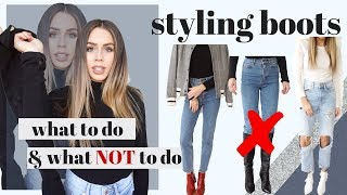 Simple Guide to Styling Boots : Do's and Don'ts