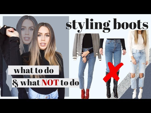 Simple Guide to Styling Boots : Dos and Donts