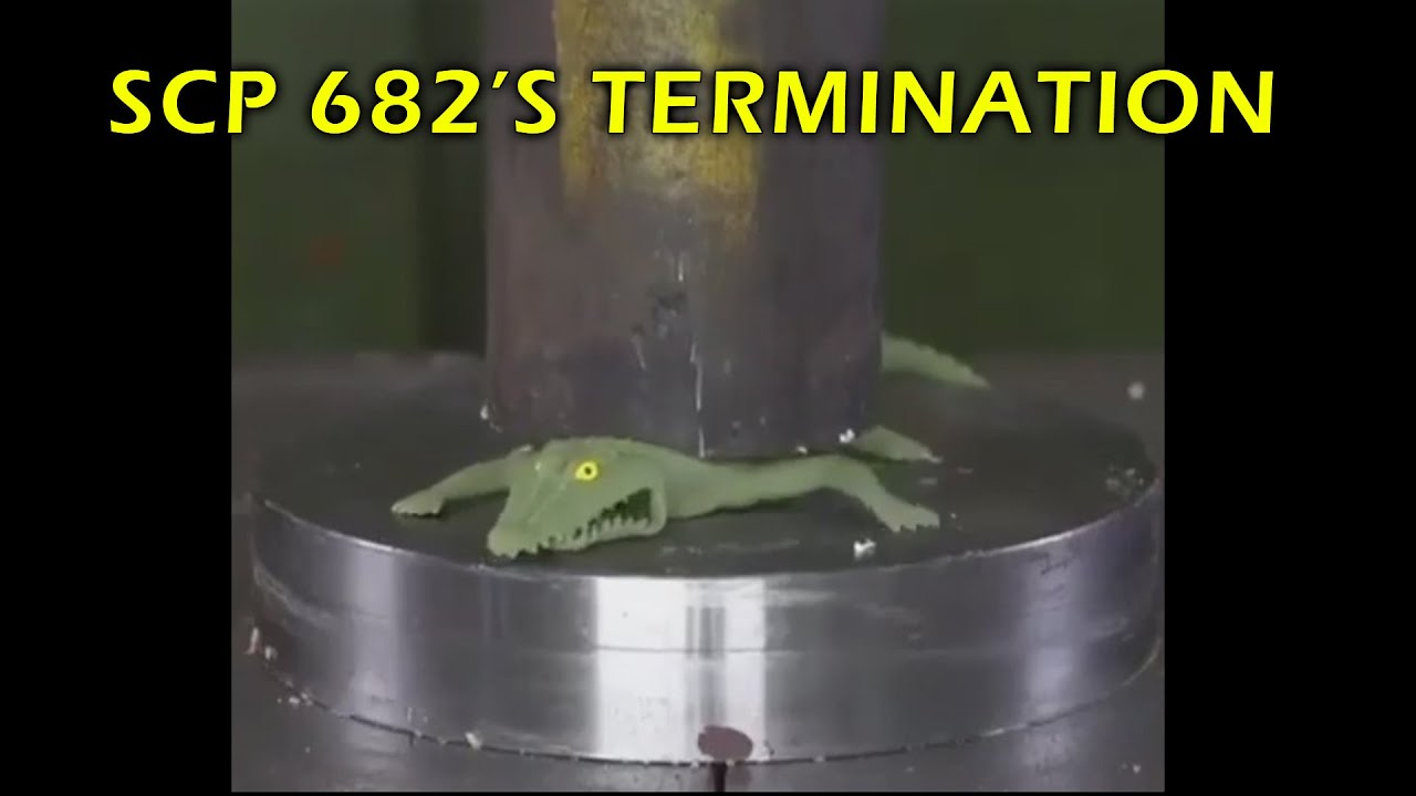 SCP 682 Termination Attempts Be Like...