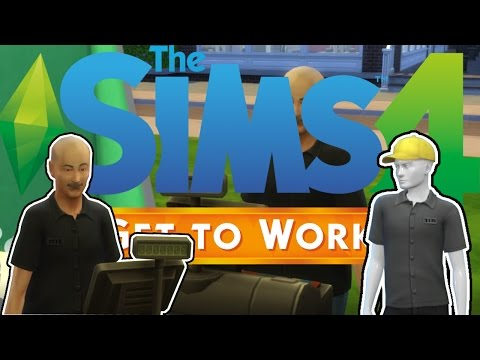 New Employee and Uniforms! | Sims 4 Get to Work!