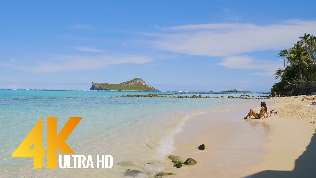 4K Hawaii - Virtual Trip to Hawaii - Short Video Preview
