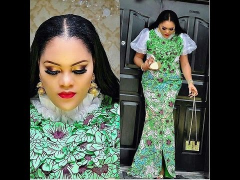2017 Ankara And Lace Designs Classic Styles For Ankara