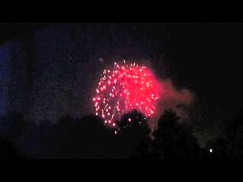 Battle Hymn of the Republic, BYU Mens Choir, Cupertino fireworks and our Fourth