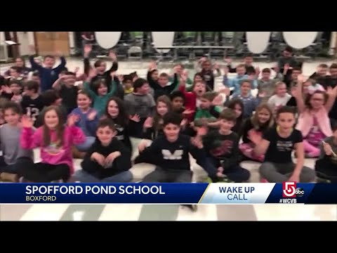 Wake Up Call from Spofford Pond School