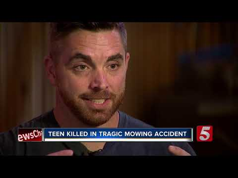 Spring Hill Teen Dies In Mowing Accident