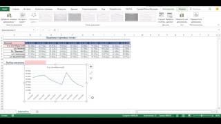 Интерактивный(живой) график в MS Excel