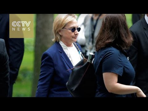 US election 2016: Hillary Clinton's health becomes political issue