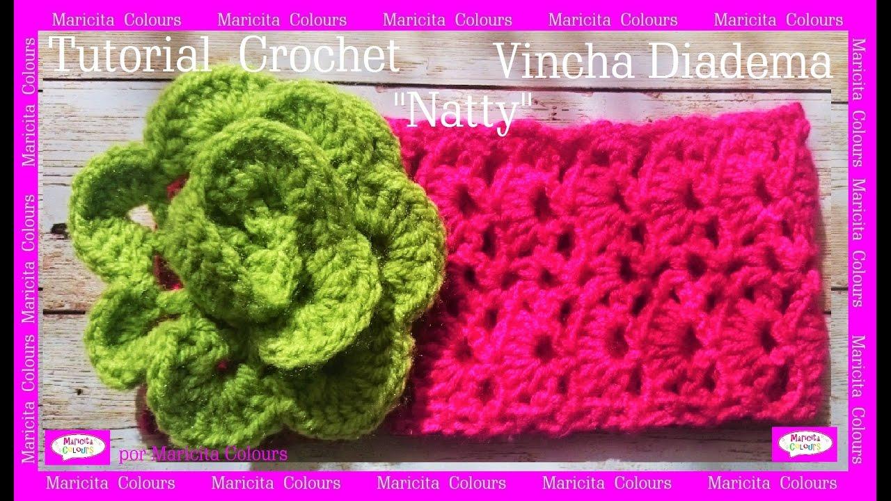 Magnífico Diadema Con Patrón De Crochet Libre Modelo - Ideas de ...