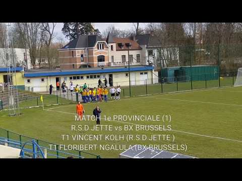 MATCH P1 R.S.D JETTE vs BX BRUSSELS 2-2 《1》