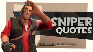 TF2: Sniper quotes [2013 download link]