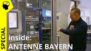 Technik Inside! Hinter den Kulissen von Antenne Bayern.
