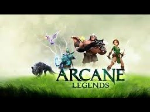 Gold Ilimitado No ARCANE LEGENDS Server Test