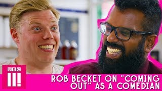 "Rob Beckett On ""Coming Out"" As A Comedian 