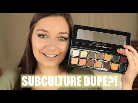Bad Habit Retro Love:  Subculture Dupe?! | Courtney Lynn Makeup