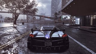 Need For Speed Heat Pagani Huayra BC test drive + customization options (NFS)