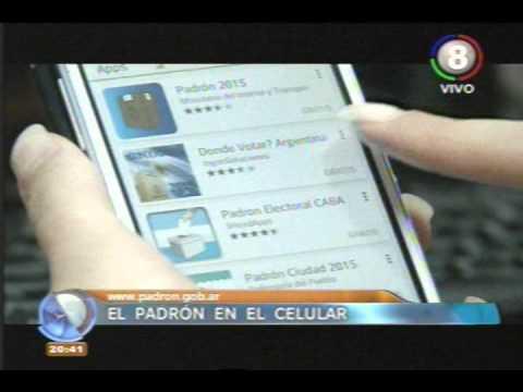 Consultá donde votas - Padrón Electoral.из YouTube · Длительность: 2 мин37 с