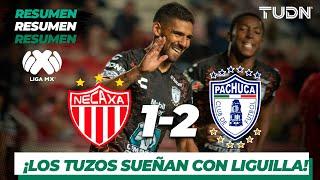 Resumen y Goles | Necaxa 1 - 2 Pachuca | Liga MX - Apertura 2019  - Jornada 17 | TUDN