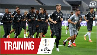 TRAINING IN COLOGNE | Manchester United prepare for FC Copenhagen Europa League clash