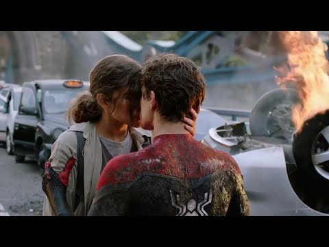Spider Man Far From Home Kiss Scene
