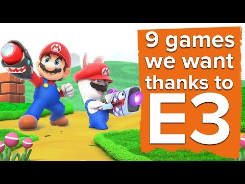 9 games we desperately want thanks to E3
