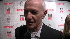 "Raymond J. Barry aka Arlo Givens at the ""Justified"" season 3 premiere in LA 1/10/2012"