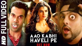 Aao Kabhi Haveli Pe | Badshah, Kriti Sanon, Rajkumar Rao, Stree Movie Song