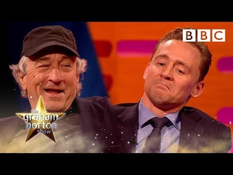 Tom Hiddleston's celebrity impressions  The Graham Norton : Episode 2  BBC One