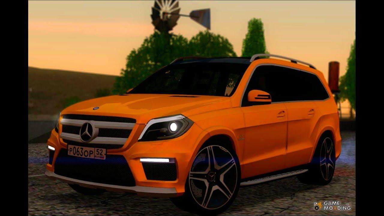 Gta Sa Mods Mercedes Benz Gl63 Amg 2014 Download
