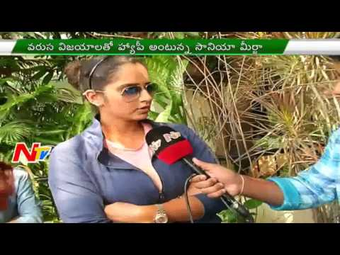 Tennis Player Sania Mirza Exclusive Interview |  Women's Doubles Title | NTV