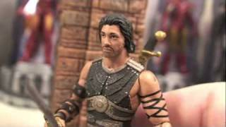 Prince of Persia The Sands Of Time Alamut Gate Playset Movie Toy Review