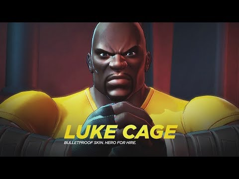 Marvel Ultimate Alliance 3 The Black Order - Luke Cage First Appearance