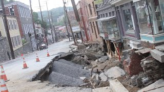 A Look at Historic Ellicott City After Flooding