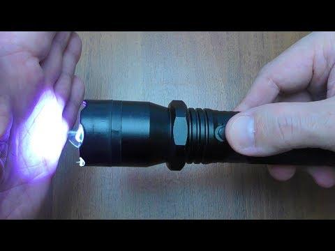 Электрошокер фонарь Police 1101 + Тест