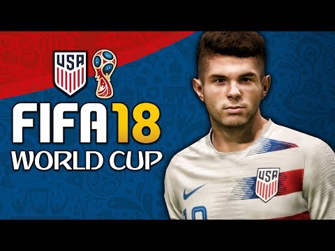 WHAT IF THE USA MADE THE WORLD CUP??? FIFA 18 World Cup Mode