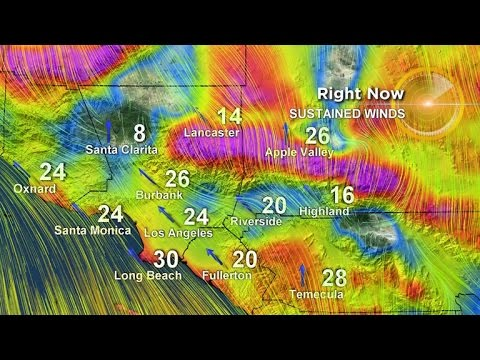 Is the Thanksgiving week storm approaching Southern California ...