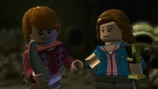 LEGO Harry Potter Years 5-7 Walkthrough Part 23 - Year 7 Deathly Hallows - Burning Bridges