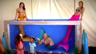 Professional Mermaid Performers: Event Tank Rentals