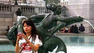 Trafalgar Square - London Landmarks - High Definition (HD) YouTube Video