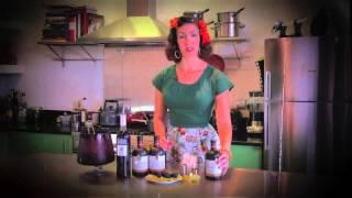 The King's Ginger Cocktail Sessions With Fleur De Guerre - Autumn Cobbler