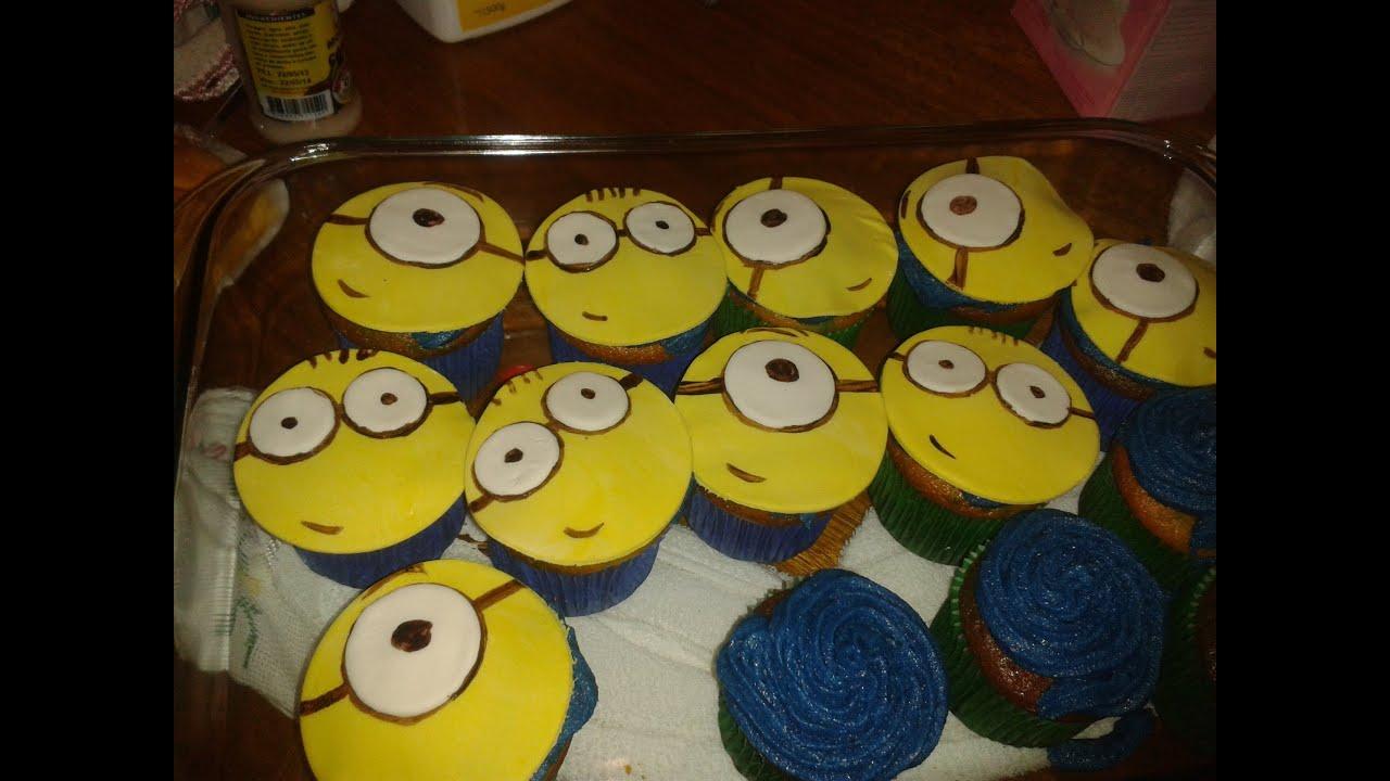 Cupcake De Minion Youtube