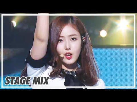 여자친구 [GFRIEND] 190914 GFRIEND - 시간을 달려서 (ROUGH) 교차 편집 (Stage Mix) @Show Music Core