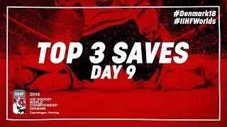 Top Saves of the Day May 12 2018   #IIHFWorlds 2018