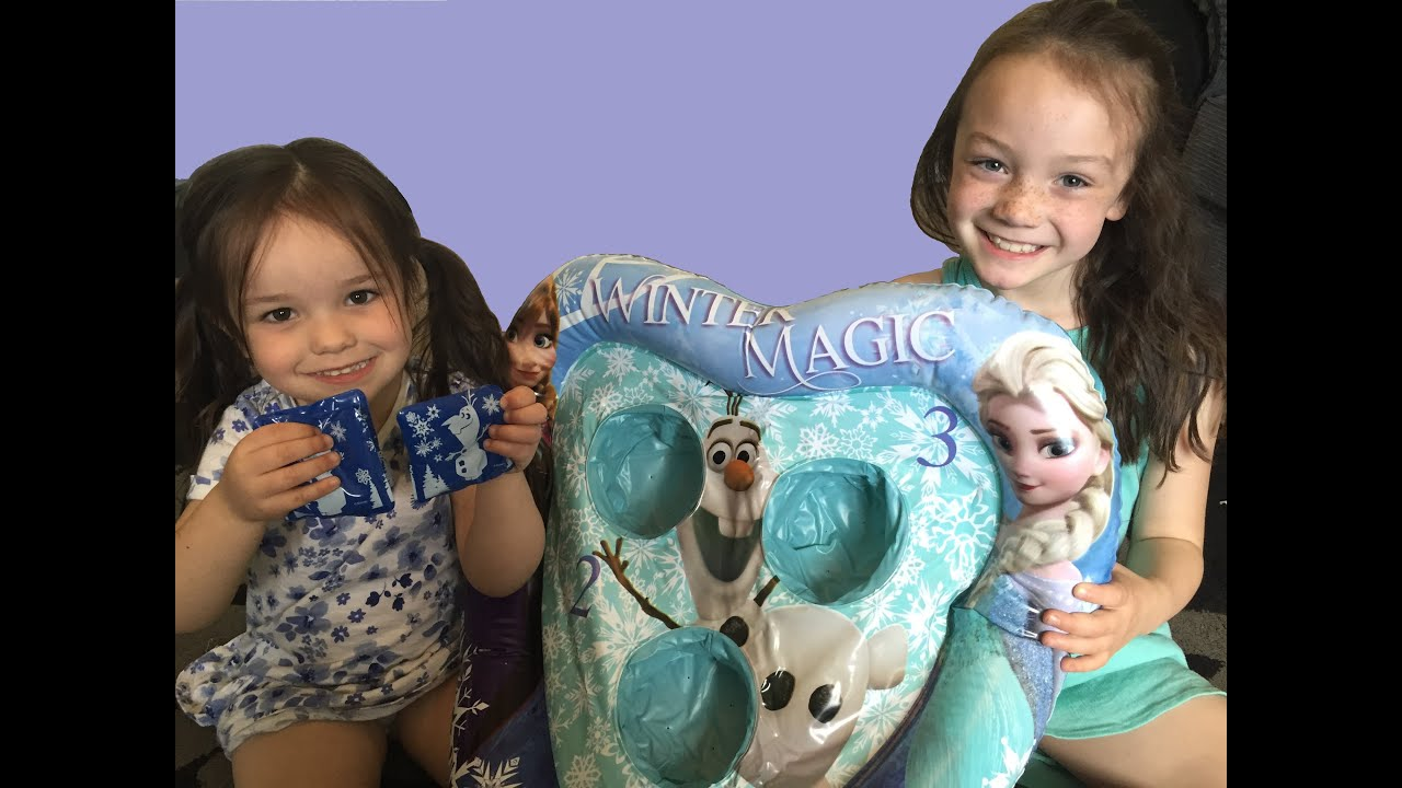 Disney Frozen Bean Bag Toss Game