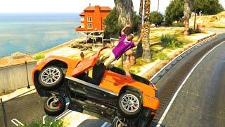 GTA V Unbelievable CrashesFalls  Episode 42