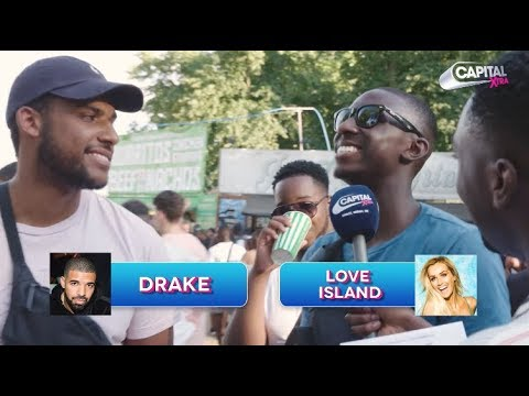 Robert Bruce Tricks Drake Fans At Wireless Festival